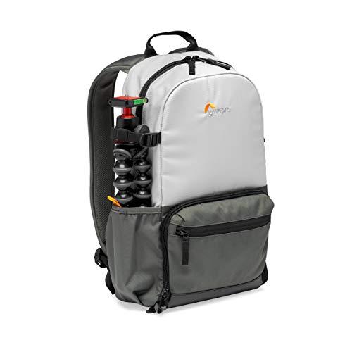 Lowepro LP37234-PWW - Mochila para cámara Ext. Truckee BP 150 LX, para Tablet 10 , DSLR compacta cámara sin Espejo, Sony, Canon, Nikon, con 2º Objetivo, Gimbal, Dron, dji, Osmo, Mavic, Gris Claro