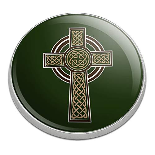 GRAPHICS & MORE Celtic Christian Cross Irish Ireland Golfing Premium Metal Golf Ball Marker