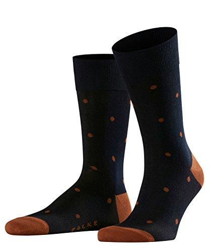 FALKE Herren Socken Dot - 88{ee4fbf974f6279056a349e333fefb874b631c87d29e807d77b5f6bae5a46e6fc} Baumwolle, 1 Paar, Blau (Dark Navy 6376), Größe: 47-50