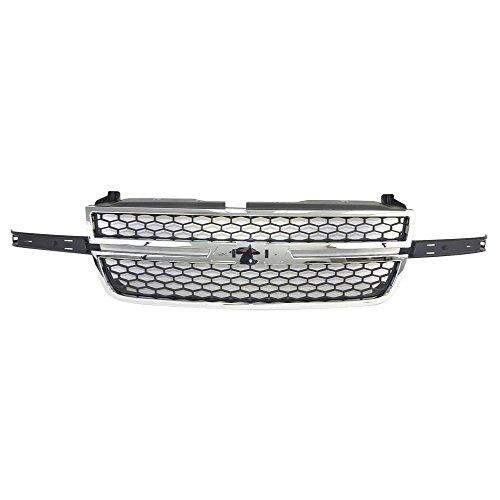 03 silverado front grill - 4