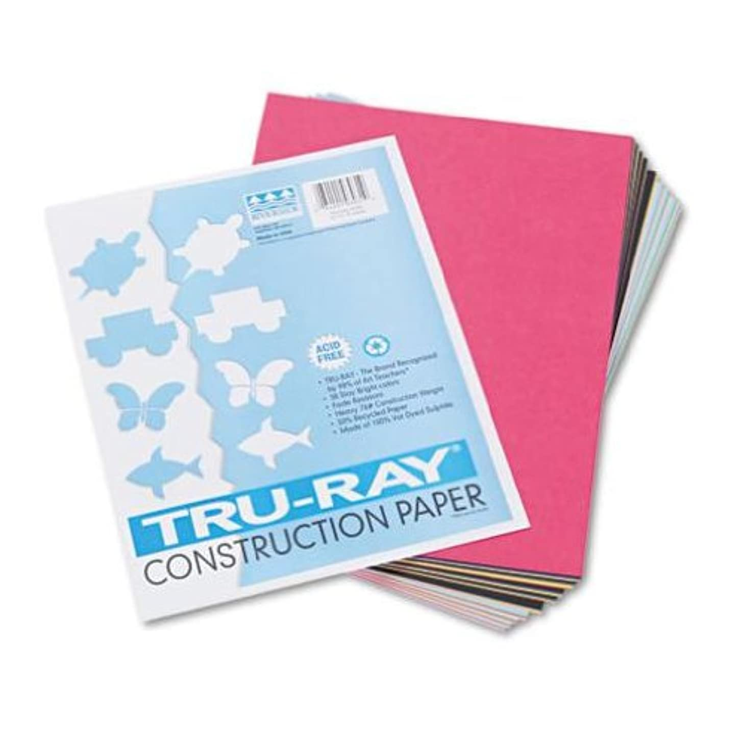 PAC103031 - Pacon Tru-Ray Construction Paper