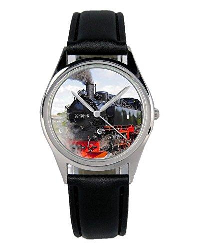 Eisenbahn Lokomotive Geschenk Artikel Idee Fan Uhr B-2796