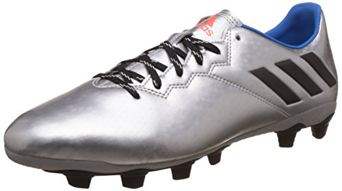 adidas Herren Messi 16.4 FXG Fußballschuhe, Plata (Plamet/Negbas/Azuimp), 46 EU