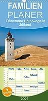 Daenemark - Unterwegs in Juetland - Familienplaner hoch (Wandkalender 2022 , 21 cm x 45 cm, hoch): Bilder Juetlands, der grossen Halbinsel zwischen Nord- und Ostsee (Monatskalender, 14 Seiten )