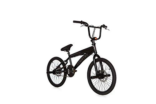 Moma - BMX Bicicletta Freestyle 360Full Disc, colore: nero