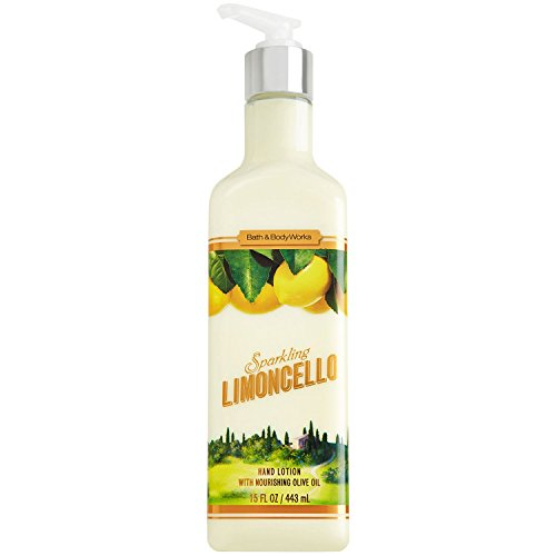 Bath and Body Works Sparkling Limoncello Luxury Hand Lotion 15 Ounce Pump Bottle