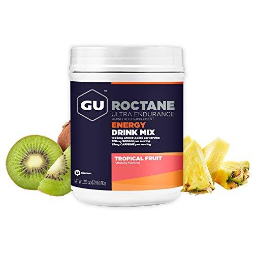 GU Energy Roctane Polvo para Deportistas con Fruta Tropical - 780 gr