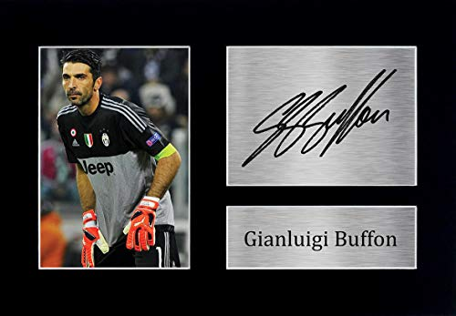 HWC Trading Gianluigi Buffon A4 Ungerahmt Signiert Gedruckt Autogramme Bild Druck-Fotoanzeige Geschenk Für Juventus Fußball Fans
