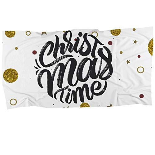 My Custom Style Serviette #Noël – Christmas Time# Microfibre Fullprint 80 x 40 cm
