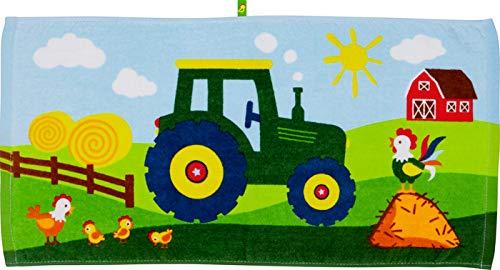 Spiegelburg 16177 - Zauberhandtuch Traktor (Wenn ich mal groß Bin)
