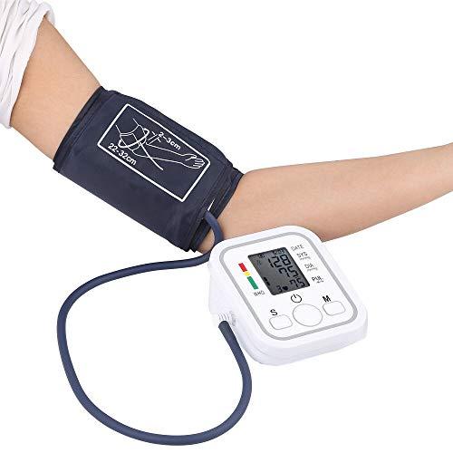 Monitor De Presión Arterial, Brazo Superior, Máquina De Presión Arterial Completamente Automática Con Brazalete Mediano (9 '-13'), Esfigmomanómetro Digital Con Pantalla Grande, Listado Por La FDA
