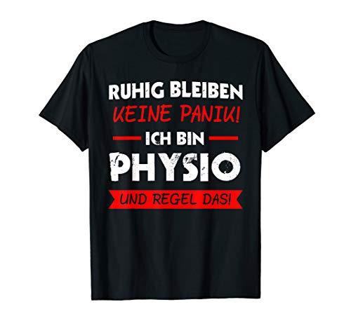 Herren Physiotherapeut Physio Physiotherapie Praxis Geschenk T-Shirt