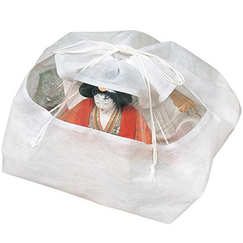 アストロ ひな人形保存袋 5枚 不織布 透明窓付 115-02