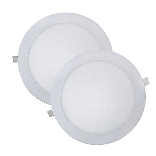 Wonderlamp W-E000045 - Juego 2 Downlight LED Extraplano Redo