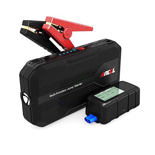 ANCEL e-power100 500 A pico 12000 mAh 12 V coche arrancador