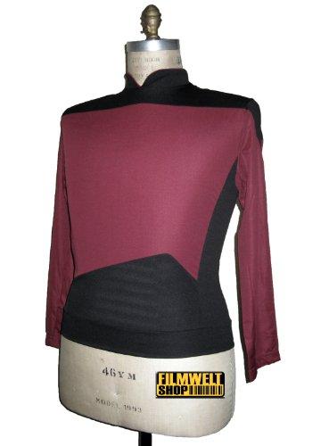 Star Trek Next Generation Uniform - Filmwelt Berlin - Oberteil Deluxe Captain XL
