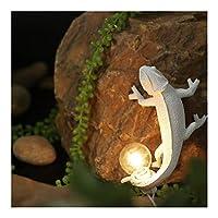 ウォールライト 現代の動物カメレオンテーブルランプLEDウォールランプの装飾用樹脂リザードナイトライト北欧リビングルームベッドルーム (Body Color : Wall lamp B)