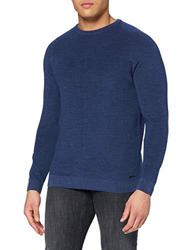 BRAX Herren Style Roy Pullover, Denim, 54