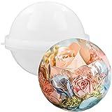 FUNSHOWCASE Molde de silicona de bola esférica de...