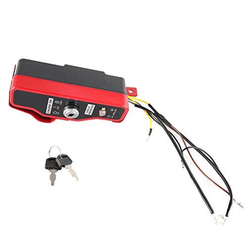 JRL New Ignition Switch & Box with Keys for Honda Lawnmower GX340 11HP & GX390 13HP Gas Engine