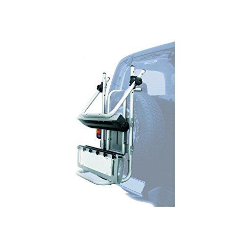 Peruzzo PE 376/A Portasci Posteriore, Stelvio, 4X4, Alluminio