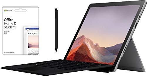 "Newest Microsoft Surface Pro 7 12.3"" Touch-Screen (2736 x 1824) w/Office Home 2019 and Surface Pen 