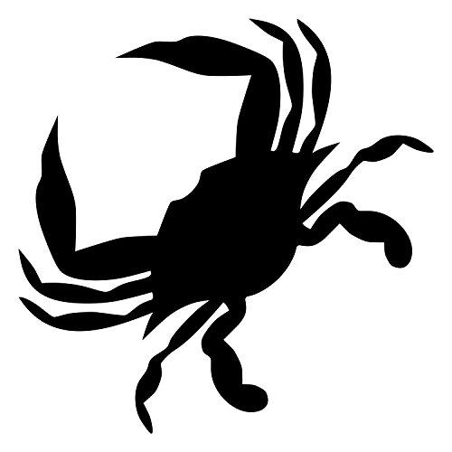 Designer Stencils Contemporary Crab Stencil (10 mil Plastic)