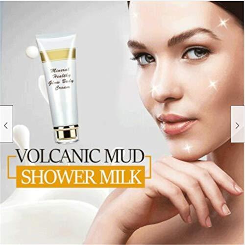 Blanchiment Deep Sea Mineral Frost Volcanic Mud Body Wash Gel pour le corps entier Blanchiment Deep Clean Skin Hydratant Exfoliant Soin du corps Gel de bain, lisse et hydrate votre peau (150g) (1pc)
