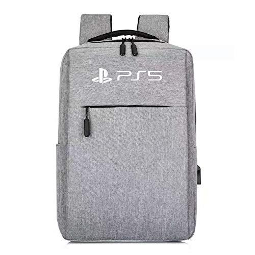 DYCLE Estuche Mochila para PS5, Estuche de Consola Compatible con el Controlador Playstation 5, ps4 ps5 Estuche de Viaje Impermeable Estuche de Almacenamiento