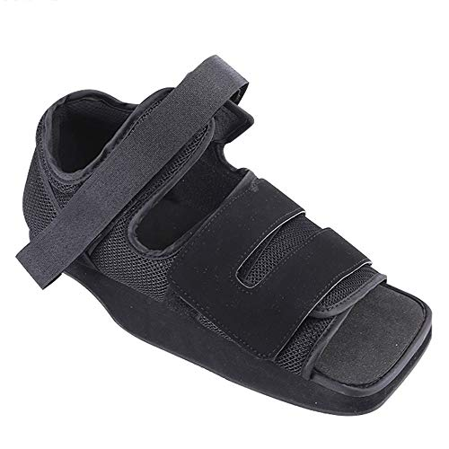 QMZDXH Zapatos quirúrgicos ortopédicos,Zapatos médicos para después de Las Operaciones cirugía del Dedo del pie cirugía del pie Yeso de París Pos Op