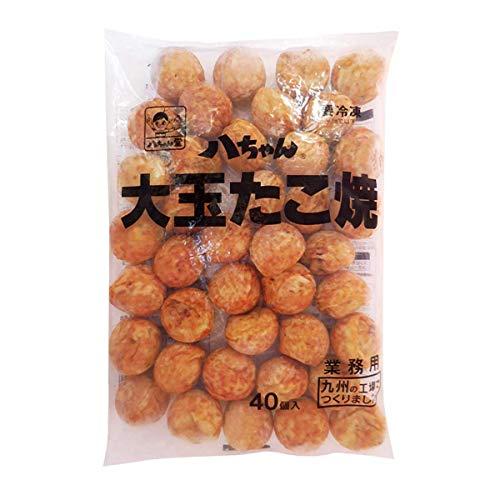 【冷凍】八ちゃん堂 大玉たこ焼き 国産 30g×40個 業務用 冷食 軽食 おつまみ