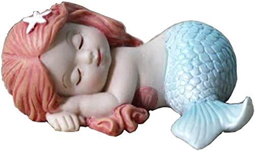 Figura de bebé en miniatura de resina para decoración de terrario o jardín de hadas, figura decorativa para mesas o estantes