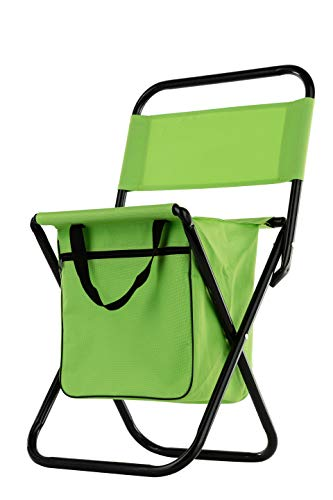 Wealers Lightweight Waterproof Folding Chair - Camping Gear and Portable Folding Stool - Perfect for Outdoor Storage, Travel, Hiking, Hunting, Camping, Tailgating, Beach, Parades & More