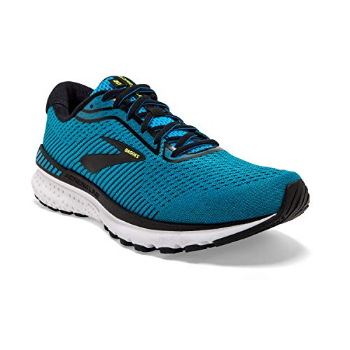 Brooks Adrenaline GTS 20, Scarpe da Corsa Uomo, Blue/Black/Nightlife, 42.5 EU