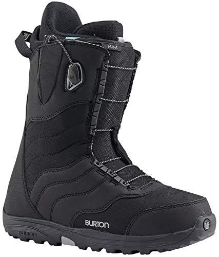 New 2017 Burton Mint Womens Snowboard Boots Size 7 Black