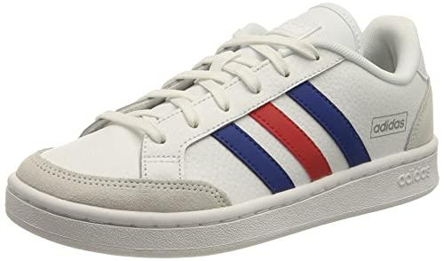 adidas Grand Court SE, Zapatillas Hombre, Cloud White/Team Royal Blue/Vivid Red, 46 EU