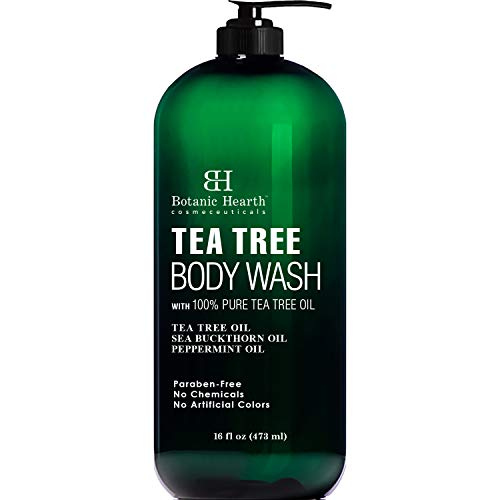 BOTANIC HEARTH Tea Tree Body Wash, Helps with Nails, Athletes Foot, Ringworms, Jock Itch, Acne,...