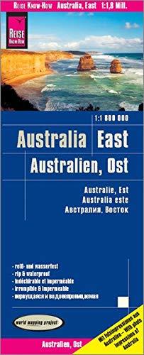 Reise Know-How Landkarte Australien, Ost / Australia, East (1:1.800.000): reiß- und wasserfest (world mapping project)