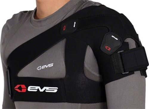EVS Sports SB03BK-L SB03 Shoulder Brace, Large