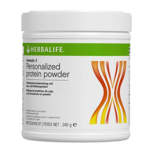 HERBALIFE NUTRITION Protein Shake Formula 3 Personalized Nutritional Protein Original 240 g