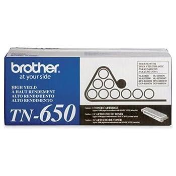 Brother TN-650 Black Toner Cartridge High Yield
