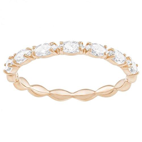 SWAROVSKI Damen-Ringe Edelstahl Kristall \'- Ringgröße 55 5351769