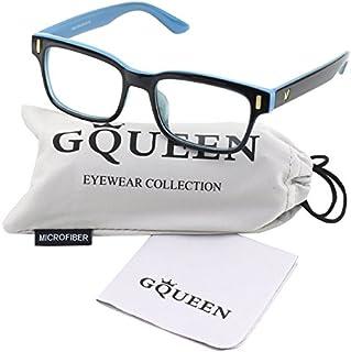 GQUEEN 201584 Modern Fashion Rectangular Thick Frame...