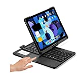 360 Rotating iPad Air 4 2020 iPad Pro 11 Backlit Keyboard case with Touchpad ,iPad Air 4th Generation 10.9 inch Trackpad Keyboard with Apple Pencil Holde and Backlits (iPadAir4/iPadPro11, Black)