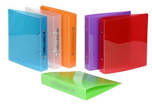 Viquel 905083-08 ordner A5 Propyglas 17 x 22 cm, willekeurige kleurkeuze