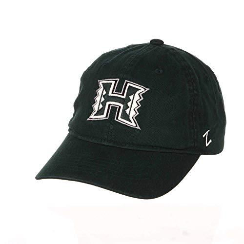 Zephyr Erwachsene NCAA All American Relaxed Adjustable Hat (Hawaii Rainbow Warriors - Green)