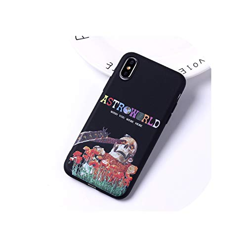 Phone Cases Astroworld Sicko Mode Soft Matte Silicone Candy Case for iPhone 11 6S 8 8Plus X 7 7Plus XS Max,for iPhone 6 6S,1