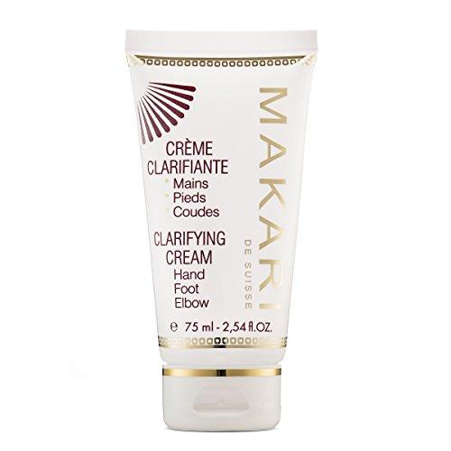 Makari Classic Skin Clarifying Cream 2.54 fl.oz – Whitening, Toning & Moisturizing Body Balm – Targeted Lightening for Dryness & Discoloration on Hands, Feet, Elbows & Knees