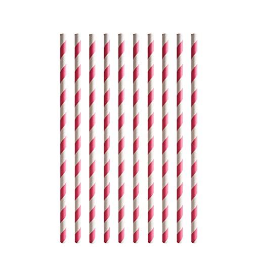 Jjwlkeji Vajilla De Fiesta Maquillaje niñas Decoración de cumpleaños Suministros de Fiesta Maquillaje Placas Placas Taza Nat Napkin Balloons Set Vajilla (Color : 10Pcs Paper Straw)