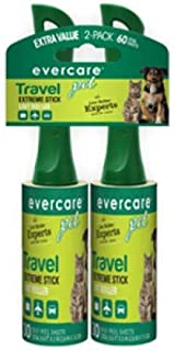 Evercare 60 Layer Lint/Pet Hair Removable Travel Twin Pack